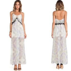 BCBGeneration cut out maxi dress